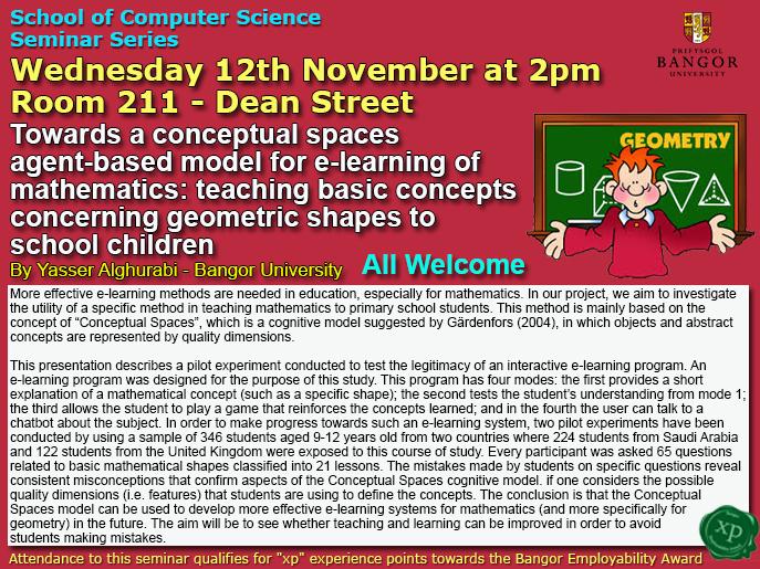 Seminar 12th November