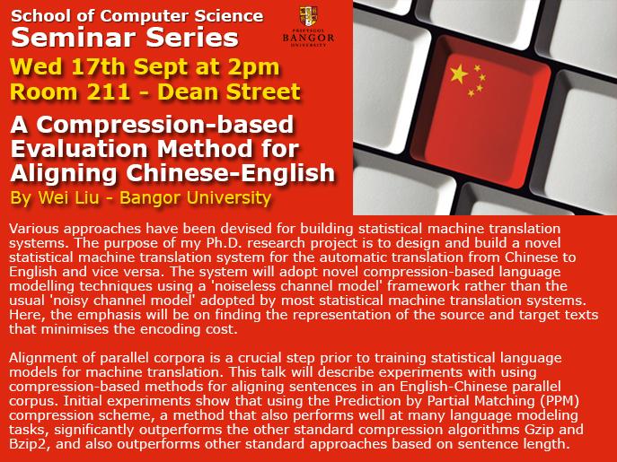 Seminar 17th September
