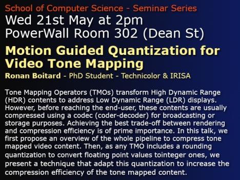 Seminar 21st May