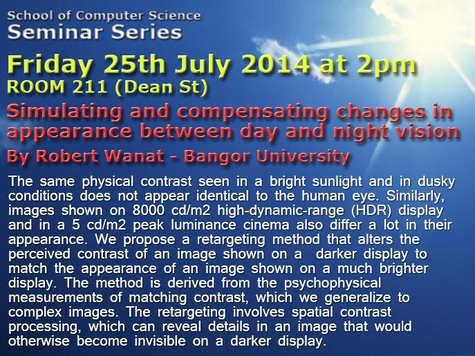 Seminar 25th July