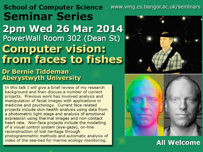 Seminar 26th March