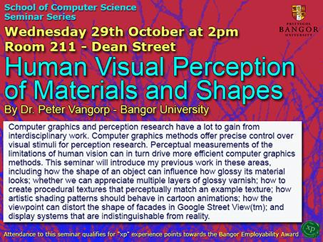 Seminar 29th October