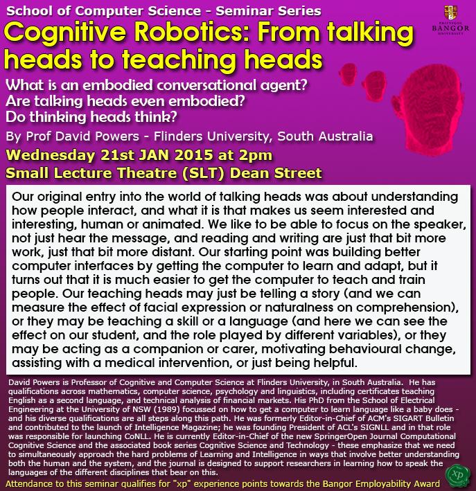 Seminar 21st January